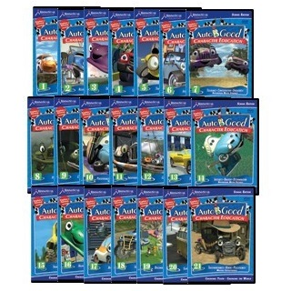 Auto-B-Good Complete 21-Volume Character Education SEL Video Series