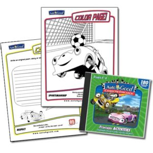 Auto-B-Good Printable Activities CD Set