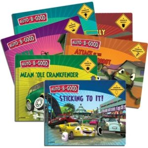 Auto-B-Good Set of 9 Storybooks for Character Education SEL