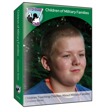 CHILDREN OF MILITARY FAMILIES Military Kids Share Their Stories - Video Series