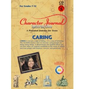 Character Journal Interactive CARING