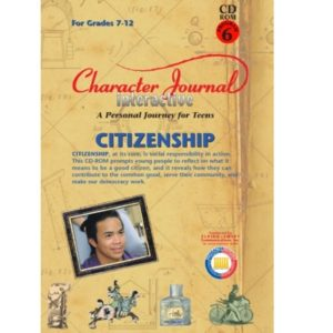 Character Journal Interactive CITIZENSHIP