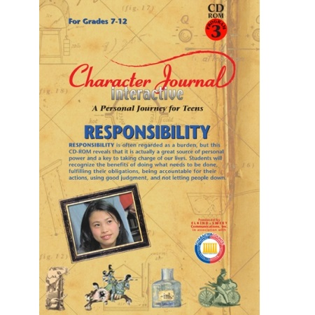 Character Journal Interactive RESPONSIBILITY