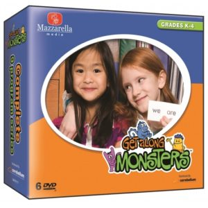 GET ALONG MONSTERS- COMPLETE SERIES