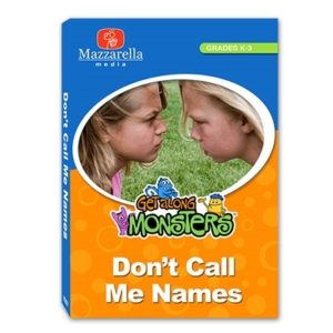 GET ALONG MONSTERS DON'T CALL ME NAMES
