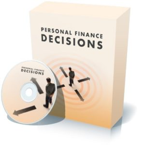 PERSONAL FINANCE DECISIONS - Financial Literacy Software for Young Adults