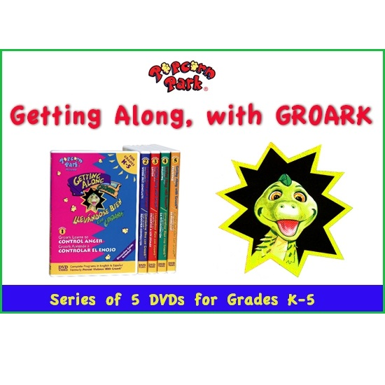 Popcorn Park - GETTING ALONG with GROARK - 5 Part Video Series