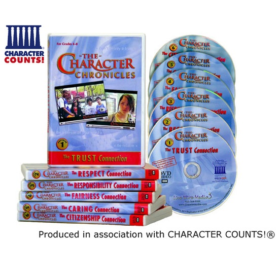 The Character Chronicles — Middle School Character Ed SEL Video Series