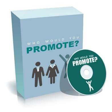 WHO WOULD YOU PROMOTE - Job Skills Video